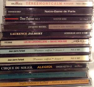 Lot de 23 CD
