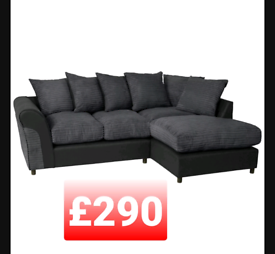 Harry corner sofa. Grey