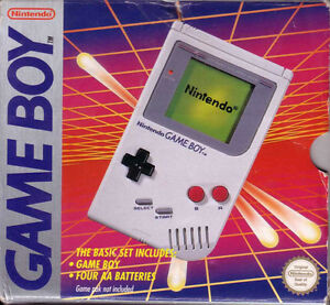 Game Boy w/ 2 game paks & carry all