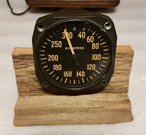antique airplane cockpit AIR SPEED gauge....BEST OFFER...