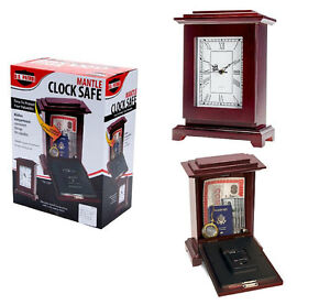 Mantle Clock Safe (Real Working Clock)