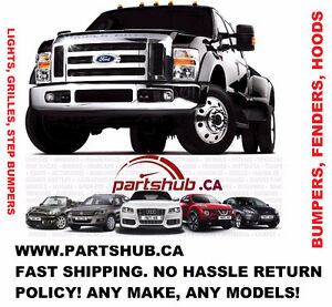 AUTO BODY REPLACEMENT PARTS- BUMPER FENDER HOOD GRILLE LIGHTS