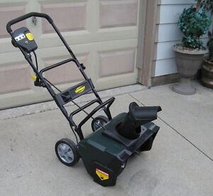 Electric Snow blower (Like New)