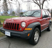 RARE DIESEL JEEP LIBERTY MINT 4X4