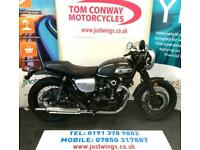 Kawasaki W800 CKF CAFE RACER, 2019(19), ONLY 463 MILES, PERFECT CONDITION, £6495