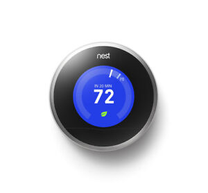 NEST LEARNING THERMOSTAT (2nd Gen.) Brand New In Sealed Box!!