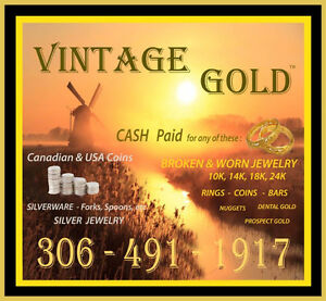 NEW MINT Gold and Silver Coins/Bars  306-491-1917