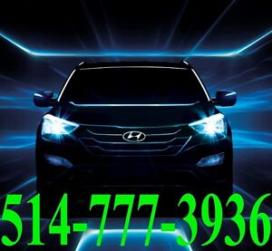HYUNDAI KIT HID XENON CONVERSION INSTALLATION HEADLIGHTS