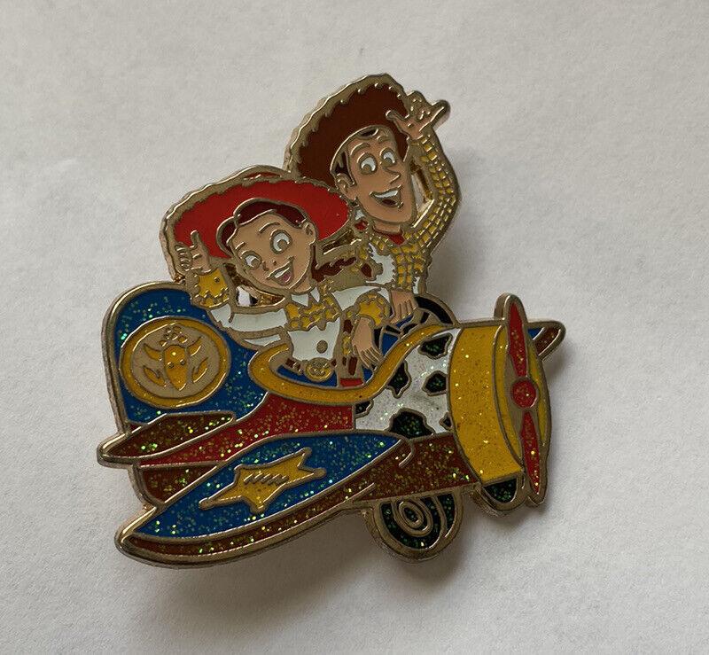 Toy Story Woody Jessie Plane Disney Pin HKDL Hong Kong