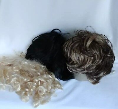 Three Wigs for Halloween Costumes - Halloween Costumes Three