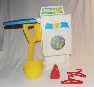 Laveuse sécheuse vintage Fisher Price