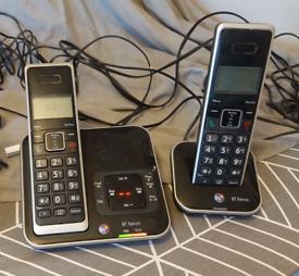 BT duo cordless phone