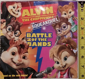 Alvin and the Chipmunks Battle of Bands Book & 4 Toys (Lot #2) London Ontario image 1