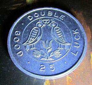 1969 KW Heritage Festival Double Good Luck Oktoberfest Coin