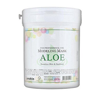 [Anskin]  #Aloe Modeling Mask Powder Pack 700ml  / Free shipping