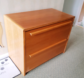 Wooden Filing Cabinet - 92x53x72h cm
