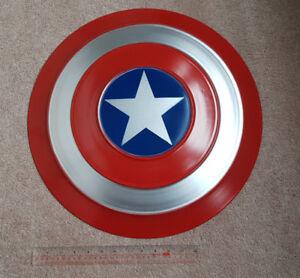 Captain America Shield, Metal, full size, Marvel memorabilia