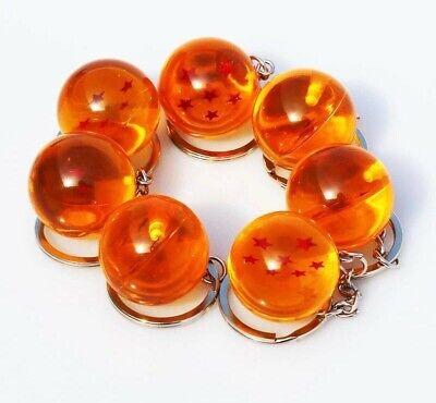 Dragon Ball Z Bola Esfera Dragon Shenlong Llavero Key Chain Colgante 3CM Resina