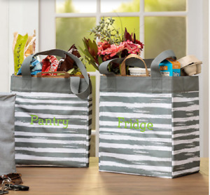 NEW THIRTYONE Essential Storage Totes (best grocery bags ever)!