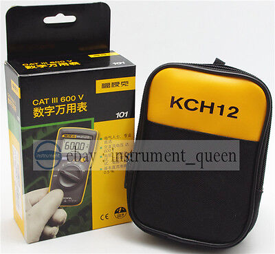 Portable Handheld Digital Multimeter Meter Fluke 101 With Soft Case Kch12