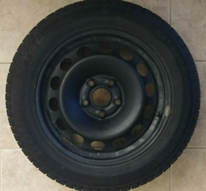4x Steel wheels 5x112 bolt pattern (tires not included)