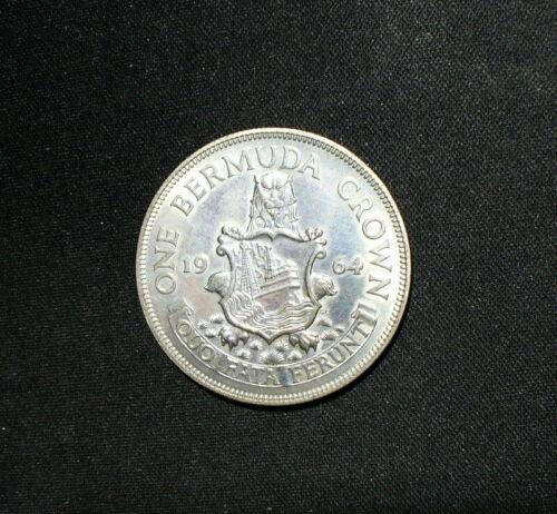 Silver Bermuda 1964 Crown Uncirculated Proof Dollar