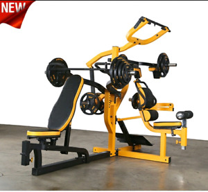 POWERTEC or BodySolid Multistation Leverage Gym