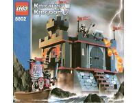 Lego Knights Kingdom Vladek's Dark Fortress Landing set 8802