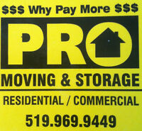 *********PRO-MOVING & STORAGE 519-982-0472*25 YEARS EXPERIENCE