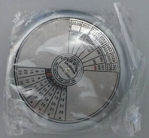 NEW - 50 Year Perpetual Calendar/Paperweight great gift novelty