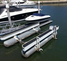 Boat Lift - Hydrolift H Series - H30 Boat Lift Dry Docking System Runaway Bay Gold Coast North Preview