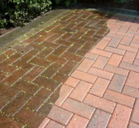 Driveway Cleaning and Re-Sanding