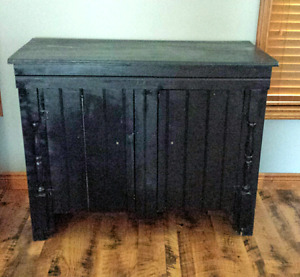 Black Cabinet/Entertainment Stand