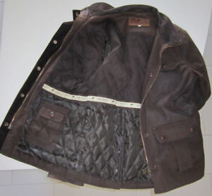 Ladies Brown LEE VALLEY Fully Lined OutBack Jacket (S)