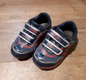 Geox running shoes, boys size 8