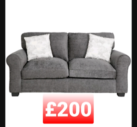 Tammy 2 seater sofa. Charcoal