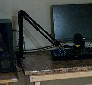 Nw-800 Usb microphone with boom arm and pop filter