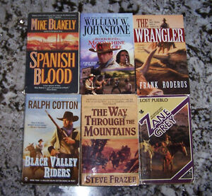 Western Paperbacks for Sale or Trade