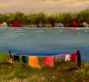 Learn how to paint Jelly Bean Houses, and Newfoundland scenes St. John's Newfoundland image 10