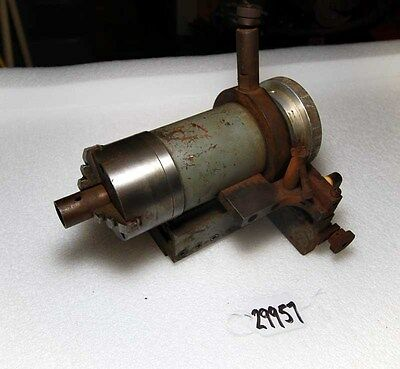 Double Slide Indexable Tailstock Chuck Inv.29957
