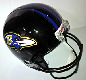 BALTIMORE RAVENS FULL SIZE RIDDELL NFL REPLICA FOOTBALL HELMET