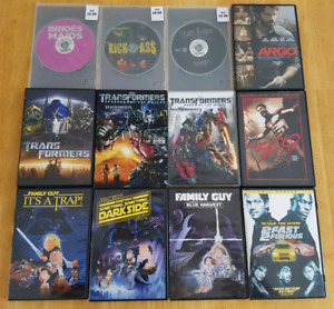 DVD Movies - $5 or less each - 300, LOTR, and more!