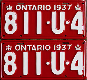 YOM Licence Plates For Your Old Auto - Ministry Guaranteed! Kitchener / Waterloo Kitchener Area image 3