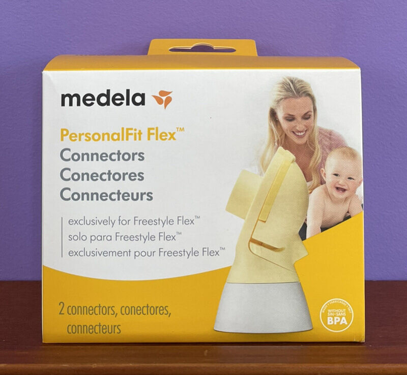 Medela PersonalFit Flex Connectors Set - 2 Connectors Per Box - Buy more & save!