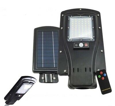 Light lamp led for lampione road with solar panel 30W outdoor IP6