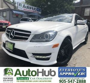 2013 Mercedes-Benz C-Class C350-COUPE-4MATIC-NAV-BACKUP CAMERA-P