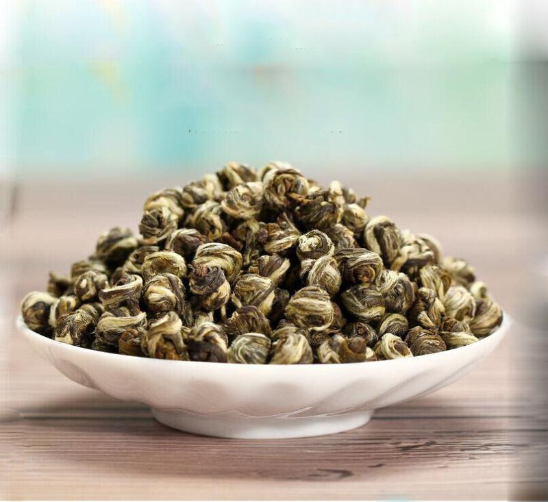 Jasmine Green Tea Loose Leaf  Organic Pure Dragon Ball Tea Premium 3.5 oz