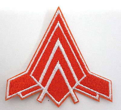 "BATTLESTAR GALACTICA Viper Pilot  Logo 2.5"" Uniform Patch-USA Mailed(BGPA-25)"