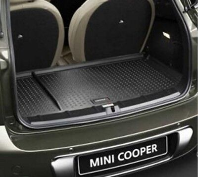 OEM Mini Cooper Countryman Fitted Rubber Trunk Mat Cooper S Logo 51472182515