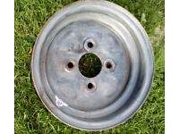 Mini wheel 145x10 ready to paint and fit tyre trailer jetski ride on car boot boat etc